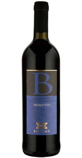 Primitivo Salento, Boheme 2018, Southern Italy, Italy
