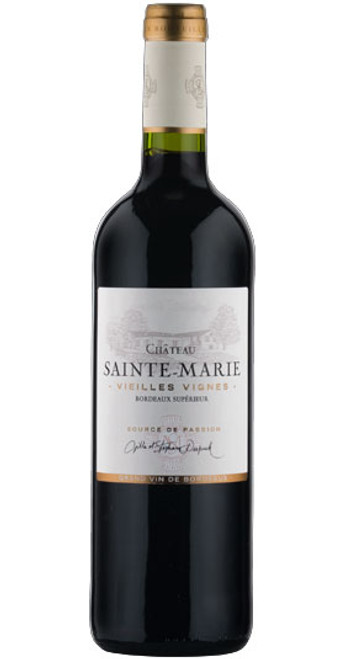 Vieilles Vignes, Bordeaux Supérieur, Château Sainte Marie 2017, France