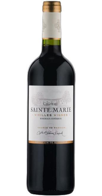 Bordeaux Supérieur 'Vieilles Vignes', Château Sainte Marie 2017, France