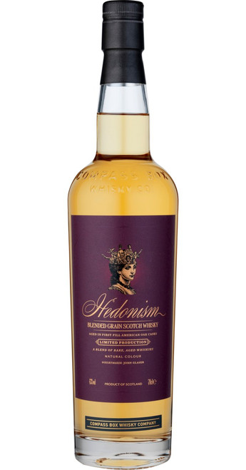 Compass Box Whisky Company Hedonism Blended Grain Whisky