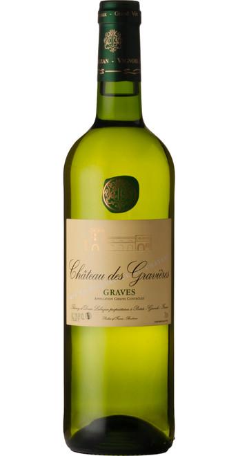 Graves Blanc, Château des Gravières 2018, Bordeaux, France