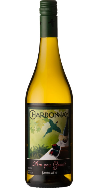 Are You Game? Chardonnay 2018, Fowles Wine