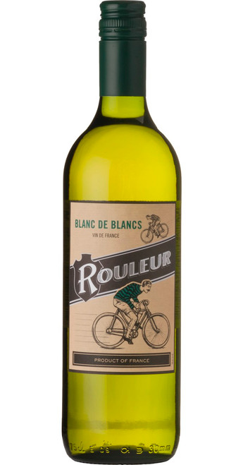 Blanc de Blancs, Vin de France, Le Rouleur 2018, France