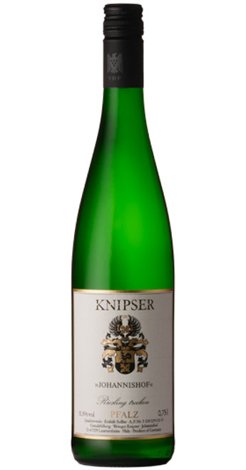 Johannishof Riesling Trocken, Knipser 2017, Pfalz, Germany