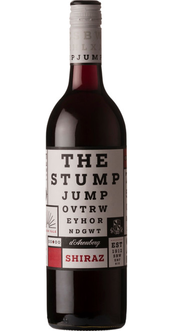 The Stump Jump Shiraz, D'Arenberg 2017, South Australia, Australia