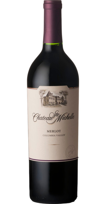Columbia Valley Merlot, Chateau Ste Michelle 2016, Washington, U.S.A.