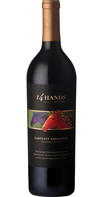 Cabernet Sauvignon, 14 Hands 2016, Washington, U.S.A.