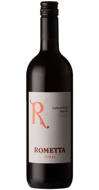 Sangiovese IGT Rubicone, Rometta 2018, Northern Italy, Italy