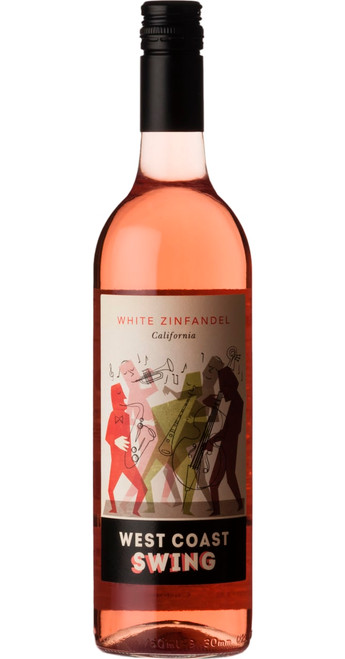 White Zinfandel 2018, West Coast Swing, California, U.S.A.