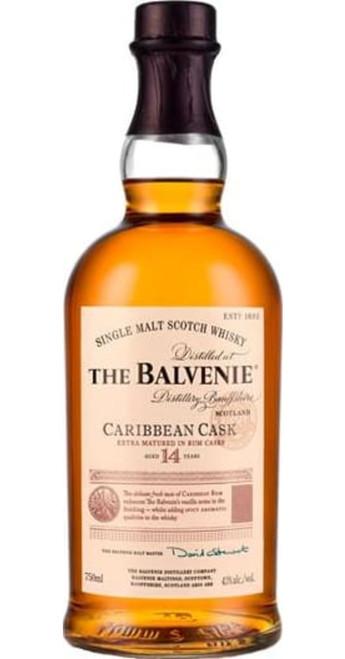 The Balvenie 14yo Caribbean Cask Single Malt Whisky