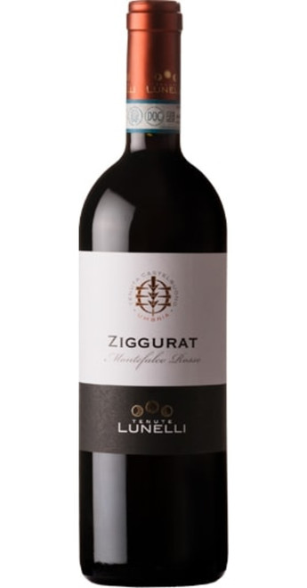 Ziggurat Montefalco Rosso DOC Organic 2017, Tenuta Castelbuono, Umbria & Lazio, Italy