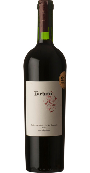 Tartufo Malbec 2015, Terroir Sonoro, Bio-Bio Valley, Chile