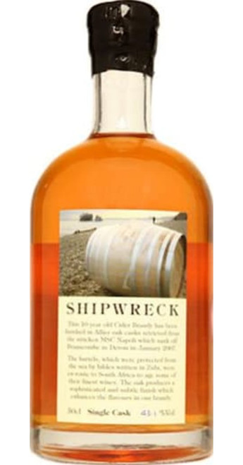 Somerset Cider Brandy Company Shipwreck 8yo Single Cask Brandy 50cl