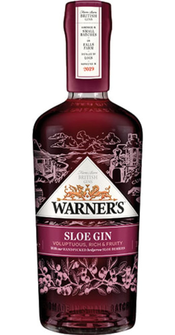 Warner Edwards Gin Harrington Sloe Gin