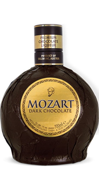 Mozart Chocolate Spirits Dark Chocolate Liqueur 50cl