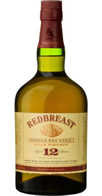 Jameson Irish Whiskies Redbreast 12yo Irish Whiskey