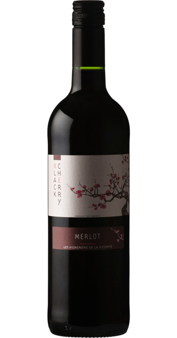 Black Cherry Merlot, Black Cherry 2018, Languedoc-Roussillon, France