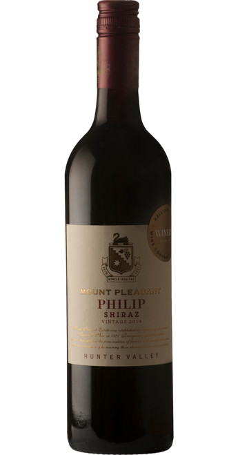 Philip Shiraz, Mt. Pleasant 2015, New South Wales, Australia