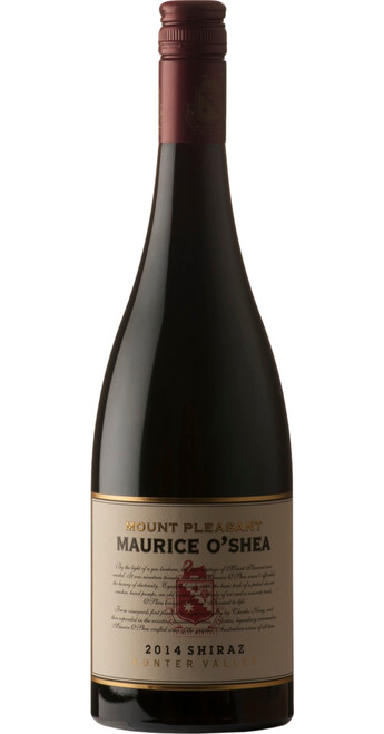 Maurice O'Shea Shiraz 2014, Mt. Pleasant