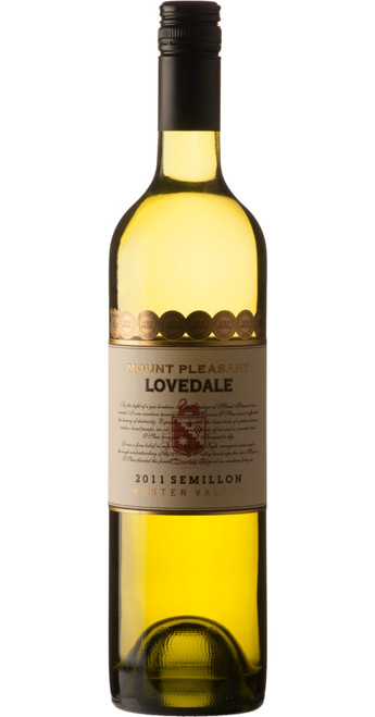 Lovedale Semillon 2013, Mt. Pleasant