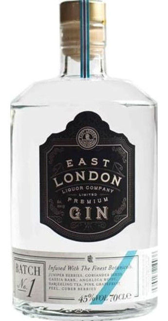 East London Liquor Company Premium Gin Batch No. 1