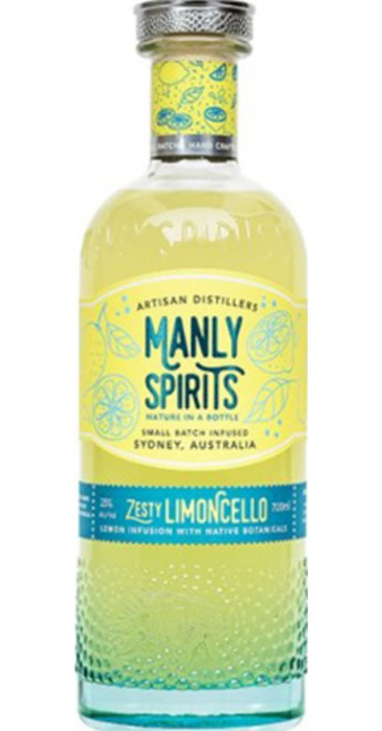 Manly Zesty Limoncello Liqueur
