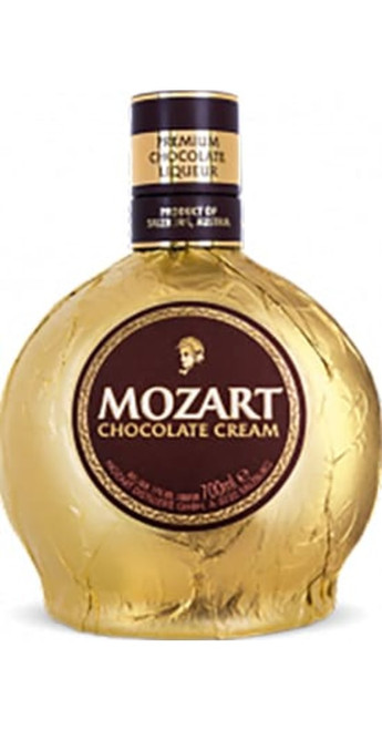 Mozart Chocolate Spirits Gold Chocolate Cream 50cl