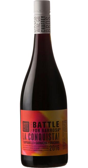 La Conquista! Tempranillo Garnacha Graciano, Chaffey Bros. Wine Co. 2016, South Australia, Australia