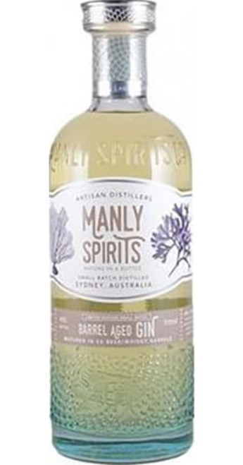 Manly Whisky Barrel Aged Gin