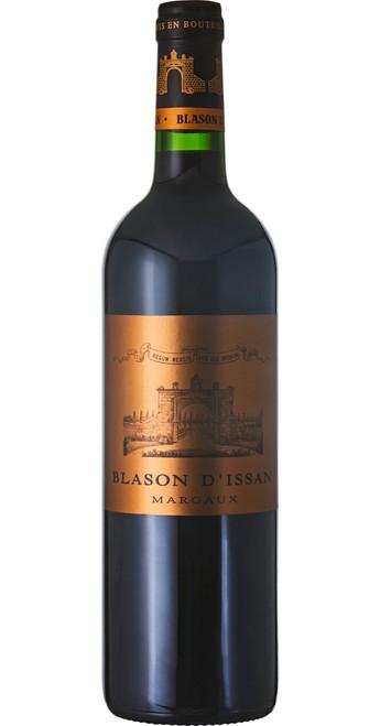 Blason d'Issan, Margaux 2015, Château d'Issan, Bordeaux, France