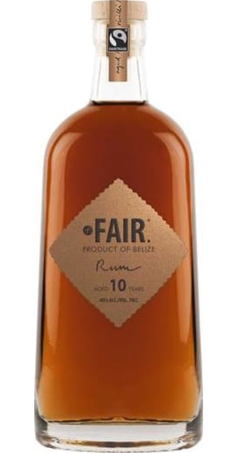 FAIR Spirits Belize Rum 10yo