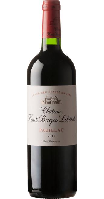 Pauillac, 5ème Cru Classé, Château Haut-Bages Libéral 2011, Bordeaux, France