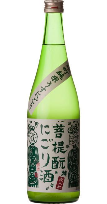 Gozenshu Junmai Bodaimoto Nigori Misty Mountain Sake Honten