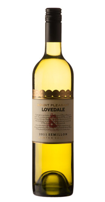 Lovedale Semillon, Mt. Pleasant 2011, New South Wales, Australia