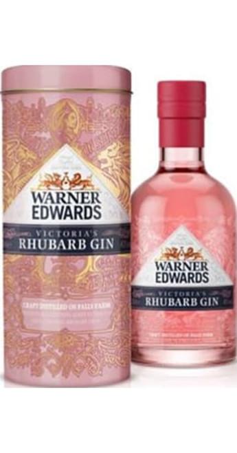Warner Edwards Gin Warner's Rhubarb Gin Gift Pack 20cl
