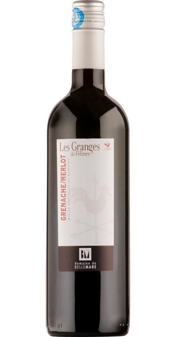 IGP Hérault, Les Granges de Félines Rouge, Domaine de Belle Mare 2017, Languedoc-Roussillon, France