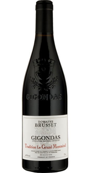 Gigondas 'Tradition' 2018, Brusset, Rhône, France