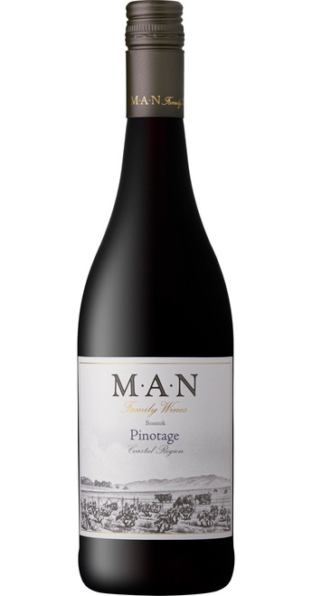 Bosstok Pinotage, MAN Family Wines 2018, Western Cape, South Africa