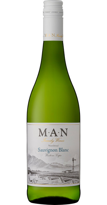 Warrelwind Sauvignon Blanc, MAN Family Wines 2019, Western Cape, South Africa