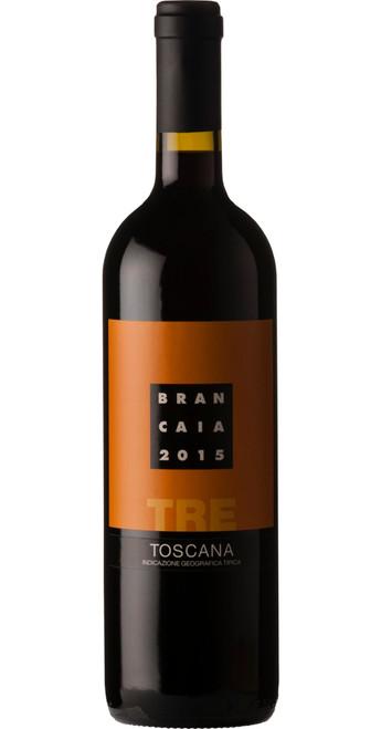 Tre IGT Rosso di Toscana 2016, Casa Brancaia, Tuscany, Italy
