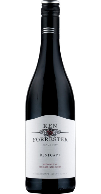 Renegade Shiraz-Grenache, Ken Forrester Wines 2016, Western Cape, South Africa