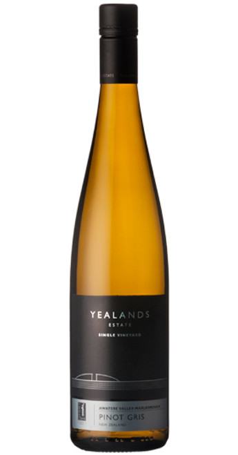 Single Vineyard Pinot Gris, Yealands Estate 2018, Marlborough, New Zealand