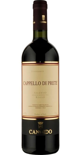 Cappello di Prete, Rosso del Salento, Francesco Candido 2016, Southern Italy, Italy