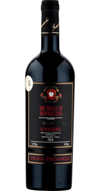 Brunello di Montalcino Riserva V. Paganelli, Il Poggione 2012, Tuscany, Italy