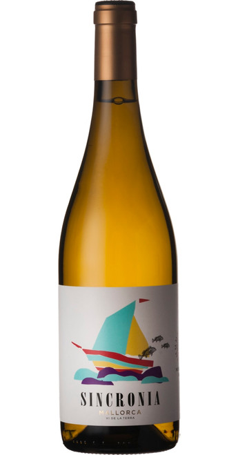 Sincronia Blanc Organic 2018, Mesquida Mora, Balearic Islands, Spain