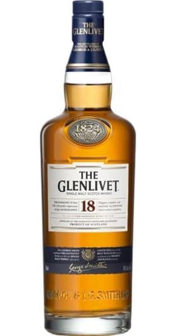 The Glenlivet 18yo Single Malt Whisky