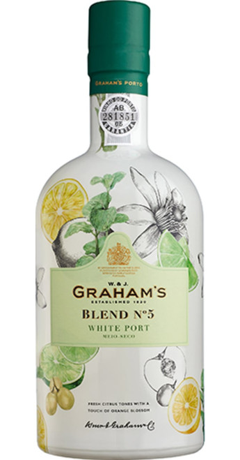 Graham's Blend No 5 White Port NV