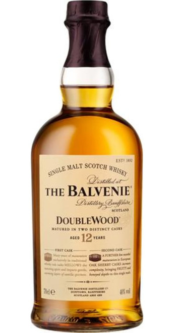 The Balvenie 12yo Doublewood Single Malt Whisky