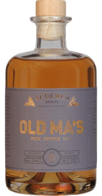 Audemus Old Ma's II Port Barrel Aged Pink Pepper Gin 50cl