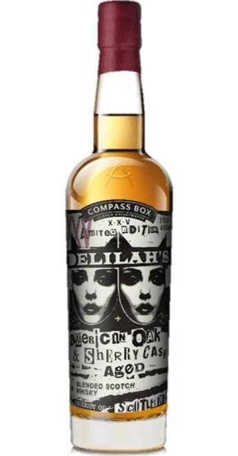 Compass Box Whisky Company Delilah's XXV Blended Whisky